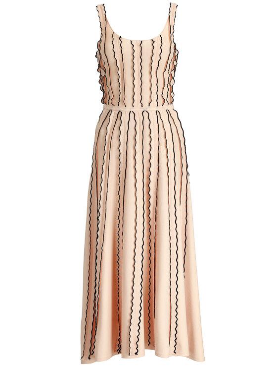 Silvian Heach Silvian Heach Úpletové šaty Dress Boudinar CVP19029VE Ružová Regular Fit