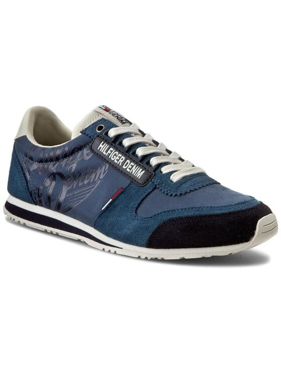 Tommy Hilfiger Tommy Hilfiger Sneakers DENIM Sprint 1C EM56820720 Blu scuro