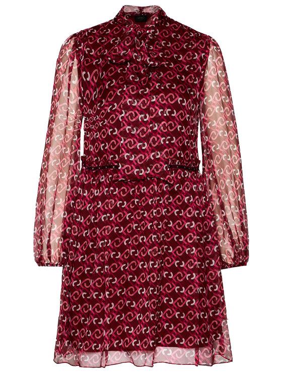 Liu Jo Liu Jo Φόρεμα καθημερινό C69140 T5714 Μπορντό Regular Fit