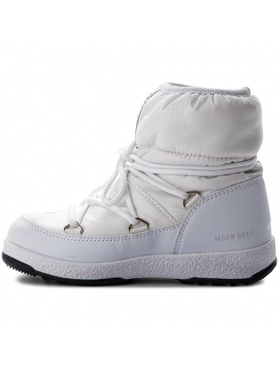 Moon Boot Moon Boot Śniegowce Jr Girl Low 34051800003 Biały