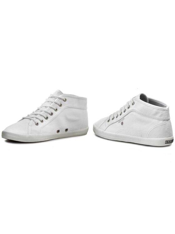 Gant Gant Sneakers aus Stoff New Haven 10548575 Weiß