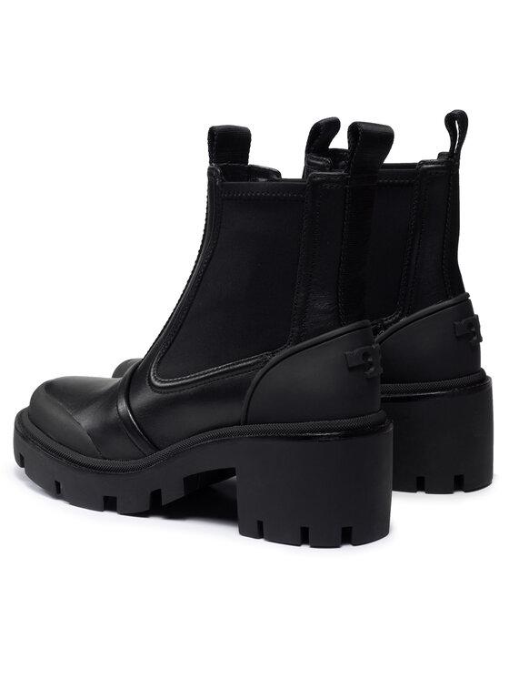 Tory Burch Tory Burch Čizme Chelsea Lug Ankle Boot 83900 Crna