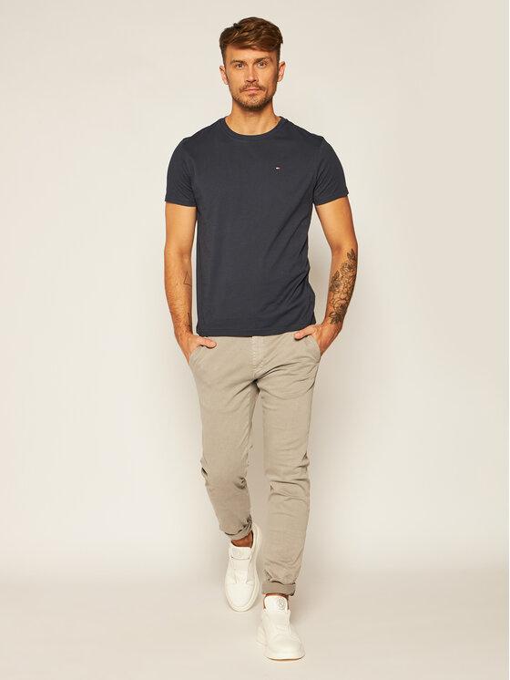 Tommy Hilfiger Tommy Hilfiger T-Shirt 2S87904671 Σκούρο μπλε Regular Fit