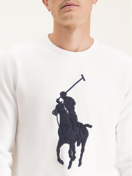 Polo Ralph Lauren Polo Ralph Lauren Суитшърт 710766862011 Бял Regular Fit