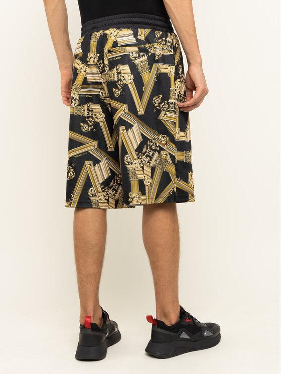 Versace Jeans Versace Jeans Pantaloncini sportivi A4GTB1F0 Nero Regular Fit