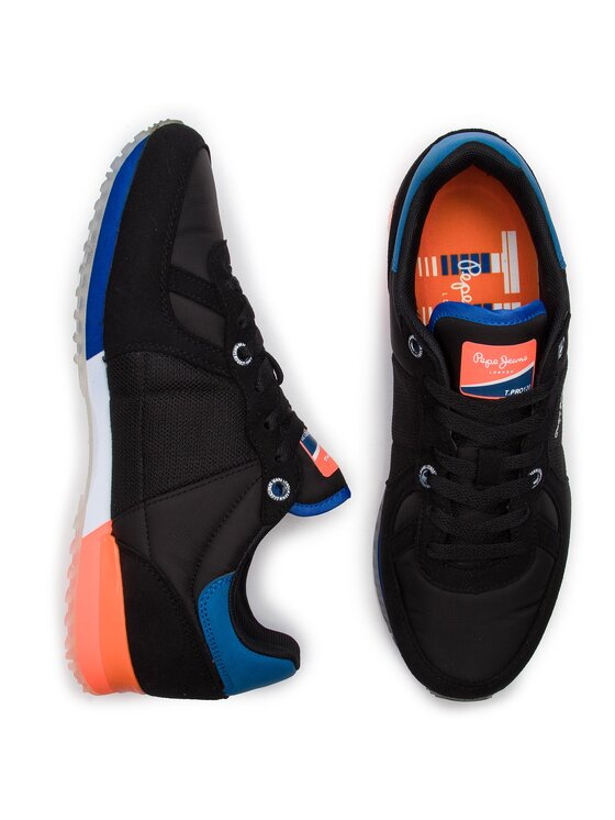 Pepe Jeans Pepe Jeans Sportcipő Tinker Neon PMS30507 Fekete