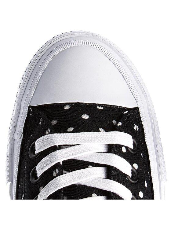 Converse Converse Sneakers aus Stoff Ctas II Ox 555803C Schwarz