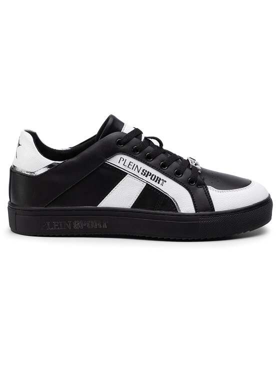 Plein Sport Plein Sport Sneakersy Lo-Top Sneakers Cross Tiger 19S MSC2246 STE003N Černá