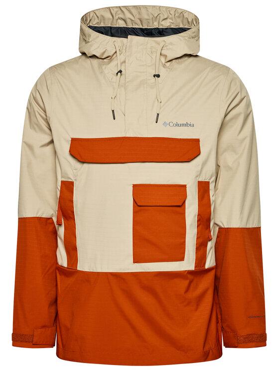 Columbia Anorak stiliaus striukė Buckhollow 1932973 Smėlio Regular Fit