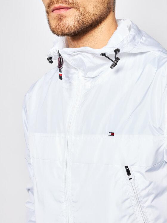 Tommy Hilfiger Tommy Hilfiger Μπουφάν μεταβατικό Light Weight Hooded MW0MW12216 Λευκό Regular Fit