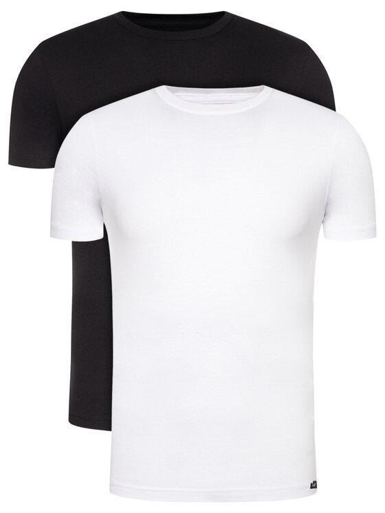 Lee 2 marškinėlių komplektas Twin Pack Crew L680AIKW Spalvota Slim Fit