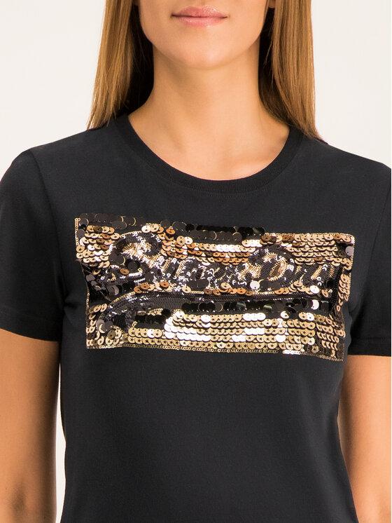 Superdry Superdry T-shirt Vintage Logo Star Sequin Entry W1000051B Noir Regular Fit