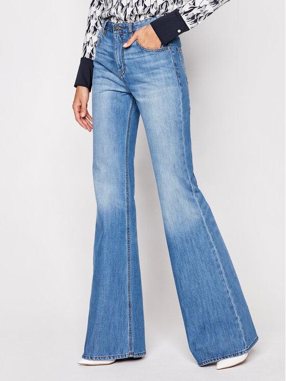 Victoria Victoria Beckham Victoria Victoria Beckham Jeansy Straight Leg 2420DJE002087A Niebieski Straight Leg