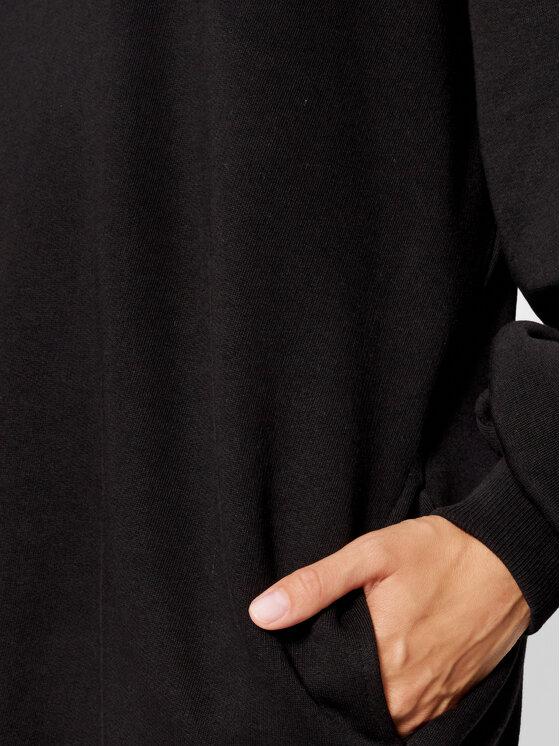 Versace Jeans Couture Versace Jeans Couture Плетена рокля Crystal 71HAIG03 Черен Boxy Fit