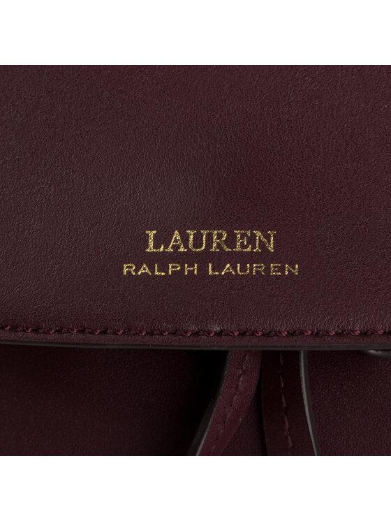 Lauren Ralph Lauren Lauren Ralph Lauren Plecak Flap Backpack 431719702014 Bordowy