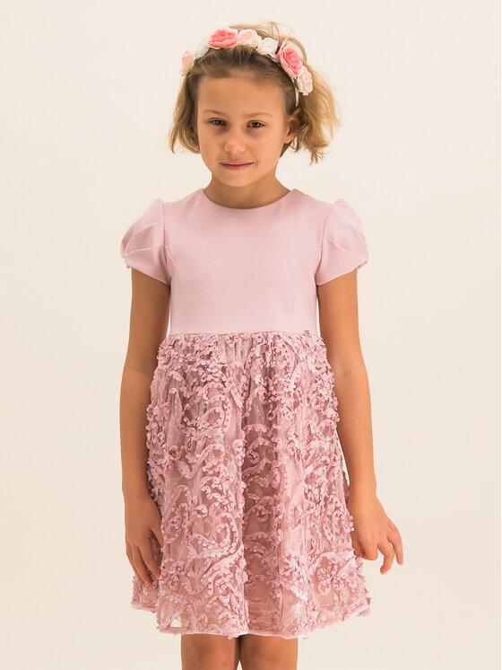 Mayoral Mayoral Φόρεμα κομψό 4920 Ροζ Regular Fit