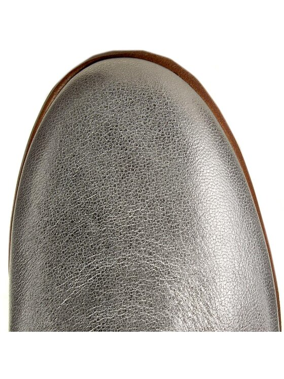 Clarks Clarks Oksfordo batai Alania Posey 261258594 Sidabrinė
