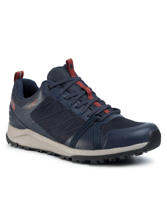 The North Face The North Face Trekkingi Litewave Fastpack II Wp NF0A4PF3H551 Granatowy
