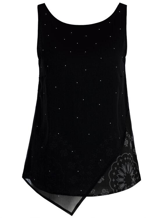 Desigual Desigual Блуза 19WWBW24 Черен Regular Fit