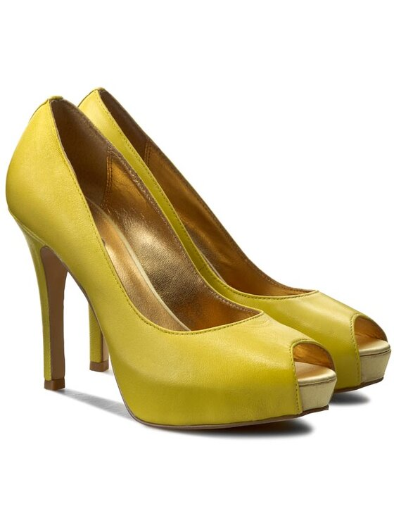 Liu Jo Liu Jo Szpilki Open Toe Clarissa S15035 P0096 Żółty