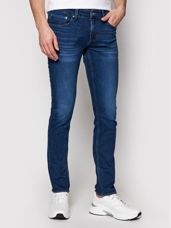 Joop! Jeans Džinsai 15 Jjd-89Stephen_PW 30026882 Tamsiai mėlyna Slim Fit