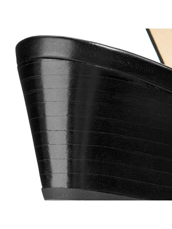 Geox Geox Sandále D Floralie C D42T4C 00043 C9999 Čierna