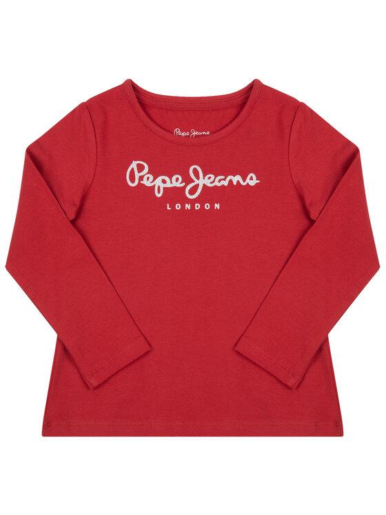 Pepe Jeans Pepe Jeans Halenka Hana PG501364 Červená Regular Fit