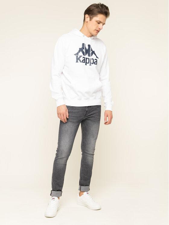 Kappa Kappa Суитшърт Taino 705322 Бял Regular Fit