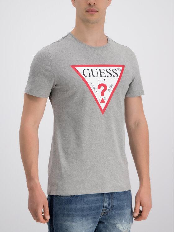 Guess Guess Tricou M93I56 K8FQ0 Gri Regular Fit