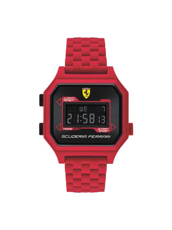 Scuderia Ferrari Laikrodis Digidrive 0830746 Raudona