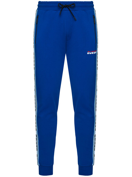 Guess Guess Pantaloni trening U0BA34 K6XF0 Albastru Regular Fit