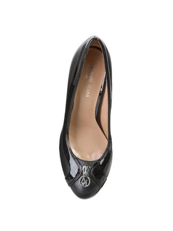 Armani Jeans Armani Jeans Pantofi cu toc subțire Z5582 42 12 Negru