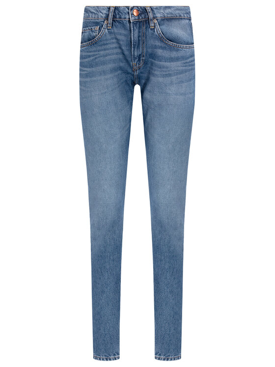 Pepe Jeans Pepe Jeans Jeansy ARCHIVE Mable PL203156 Niebieski Straight Leg