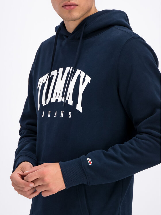 Tommy Jeans Tommy Jeans Džemperis DM0DM06590 Tamsiai mėlyna Regular Fit