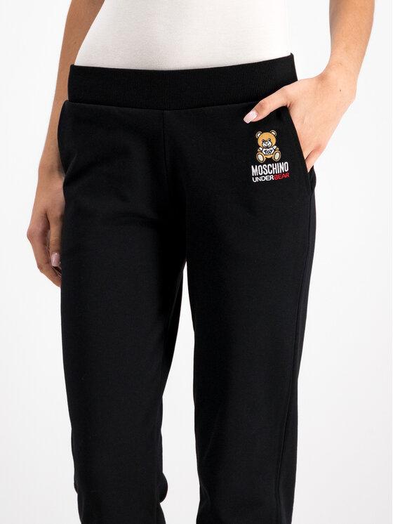 MOSCHINO Underwear & Swim MOSCHINO Underwear & Swim Spodnie dresowe A4208 9029 Czarny Regular Fit