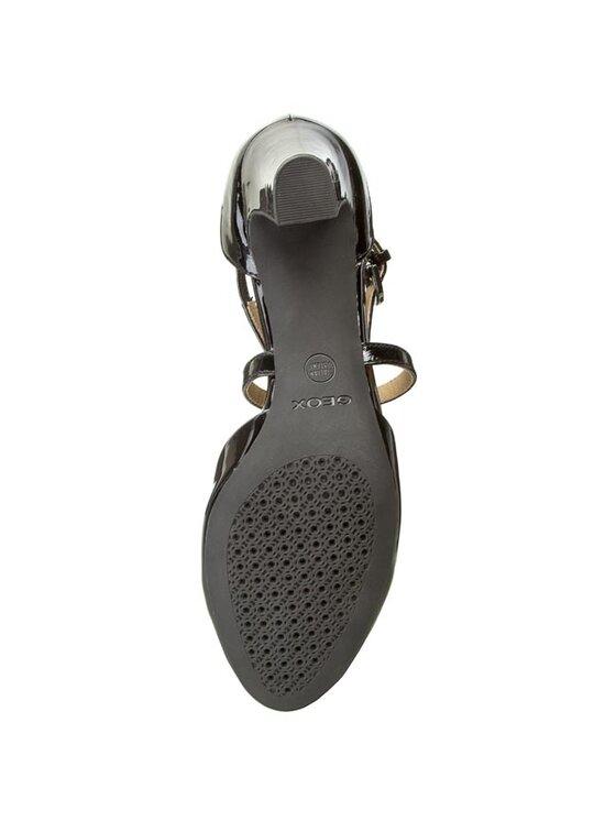 Geox Geox Обувки D Mariele Mid B D52T7B 00066 C9999 Черен