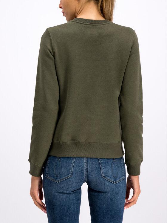 Calvin Klein Jeans Calvin Klein Jeans Суитшърт Institutional J20J212483 Зелен Regular Fit