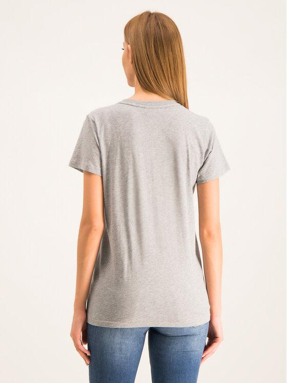 Calvin Klein Calvin Klein Tricou Embroidered K20K201370 Gri Regular Fit
