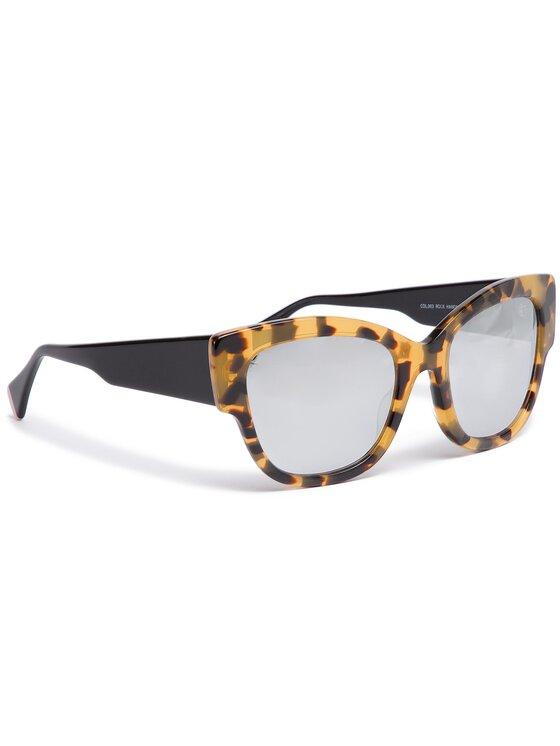 Marella Marella Okulary przeciwsłoneczne Rock 38010182 Żółty