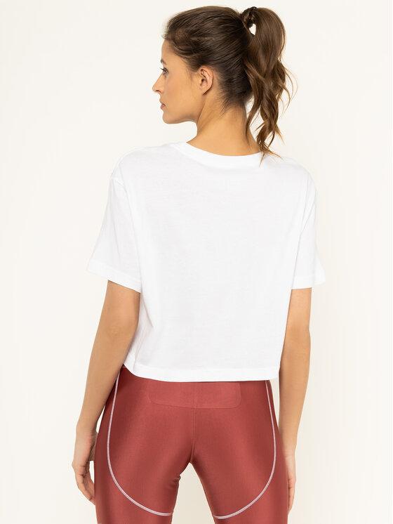 Nike Nike Marškinėliai Cropped BV7170 Balta Standard Fit