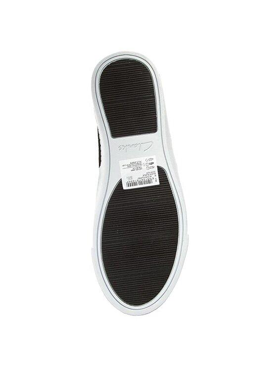 Clarks Clarks Πάνινα παπούτσια Glove Puppet 261091214 Μαύρο