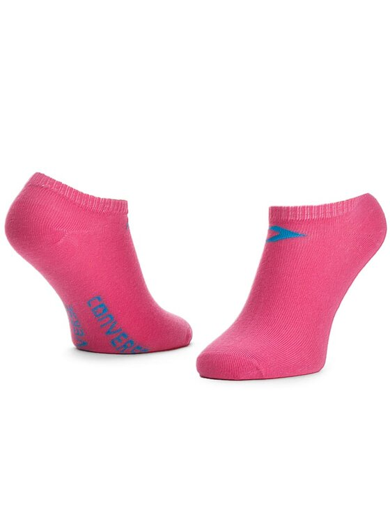 Converse Converse Lot de 3 paires de chaussettes basses femme E220N3009 Blanc