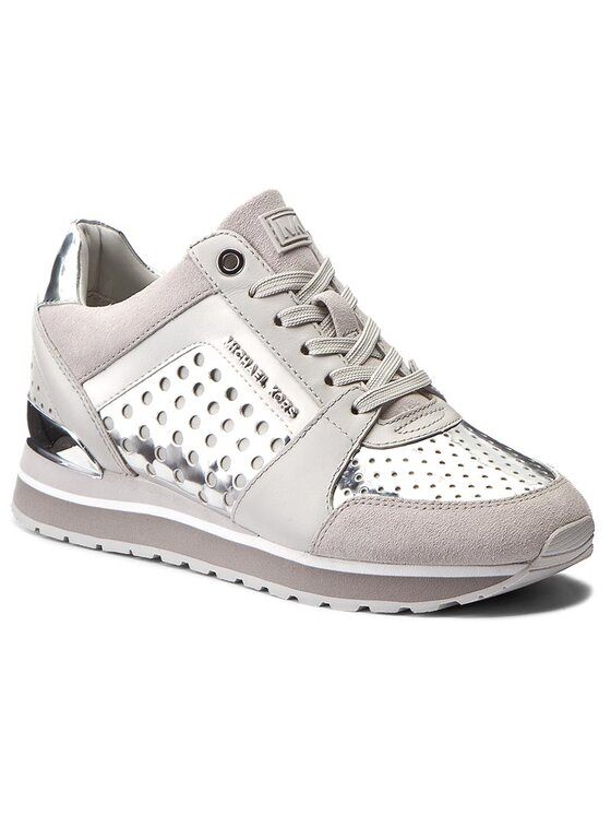 MICHAEL Michael Kors MICHAEL Michael Kors Sneakers Billie Trainer 43T7BIFS1M Argintiu