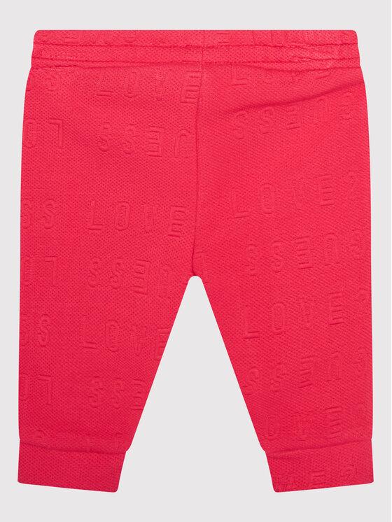 Guess Guess Dres A1YG15 KAPR0 Różowy Regular Fit