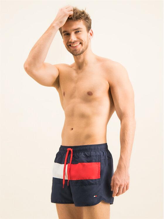 Tommy Hilfiger Tommy Hilfiger Σορτς κολύμβησης Runner UM0UM01703 Σκούρο μπλε Regular Fit