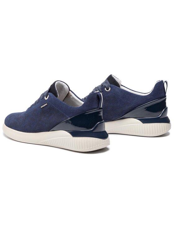 Geox Geox Sneakersy D Theragon C D828SC 00022 C4294 Granatowy
