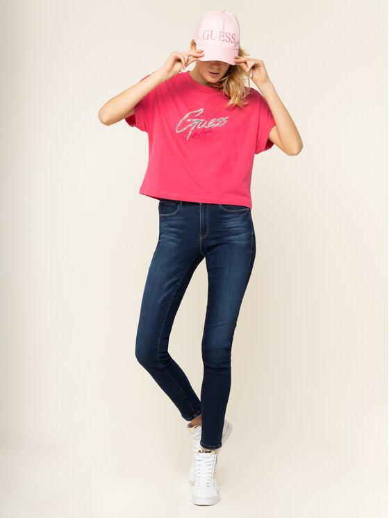 Guess Guess T-Shirt Marlene Tee W01I78 I3Z00 Rosa Regular Fit