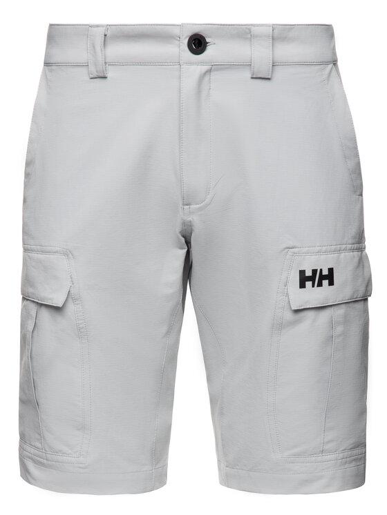 Helly Hansen Helly Hansen Medžiaginiai šortai HH QD Cargo Shorts 11 54154 Pilka Regular Fit