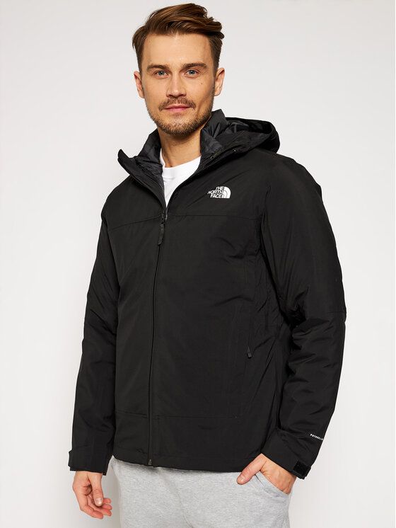 The North Face Daugiafunkcinė striukė Mountain Light Triclimate NF0A4R2IKX71 Juoda Regular Fit