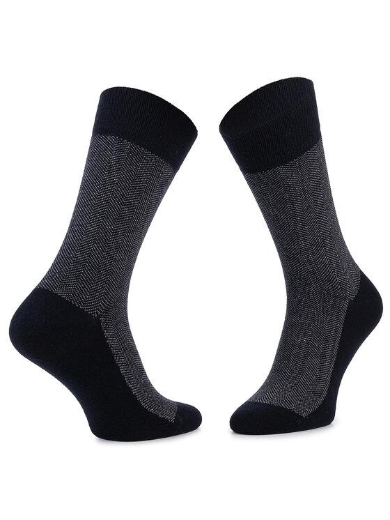 JOOP! Joop! Skarpety Wysokie Unisex Herringbone Sock 900.076 Granatowy